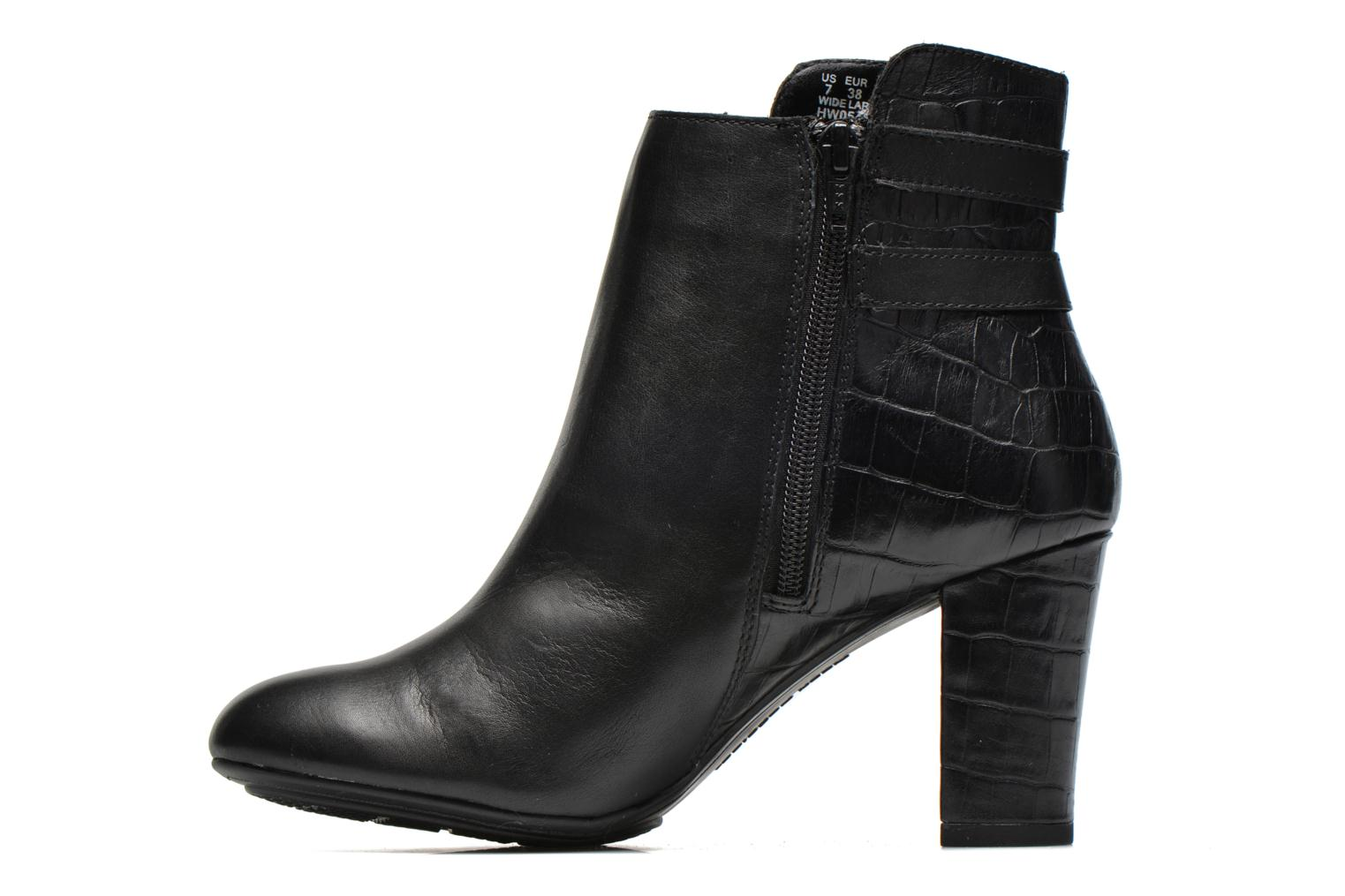 Bottines et boots Hush Puppies Ilsa sisany Noir vue face
