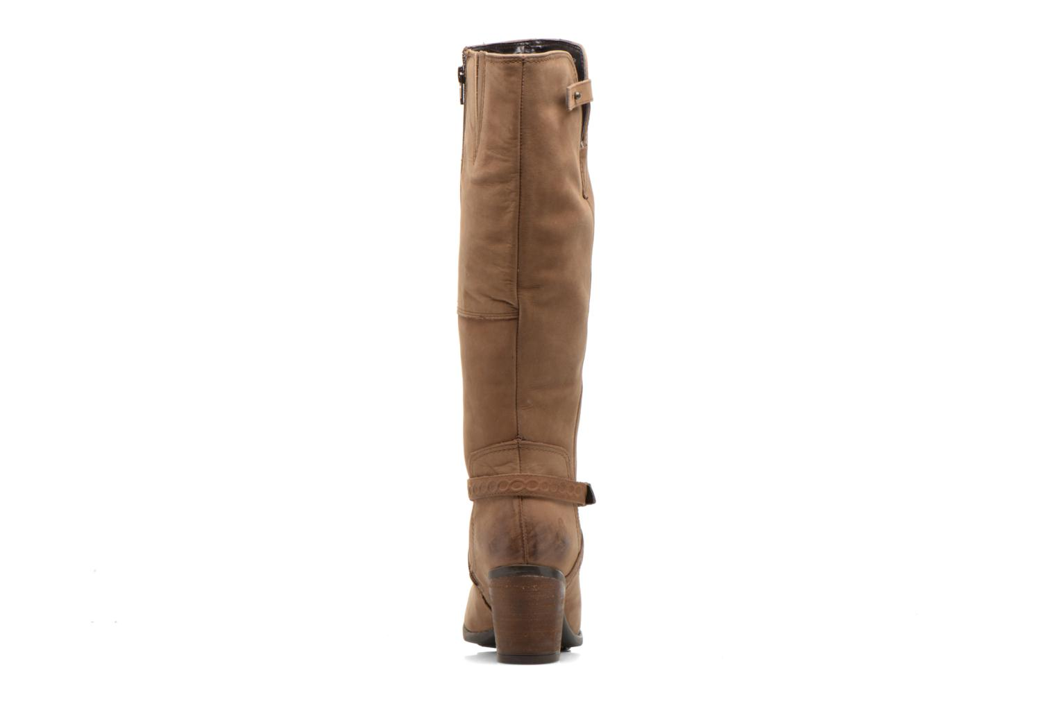 Gussie Moorland tan waxy leather