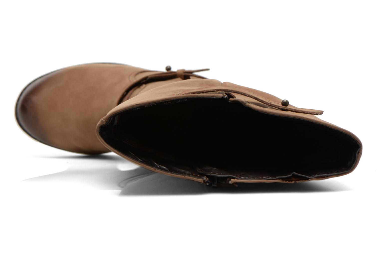 Gussie Moorland tan waxy leather