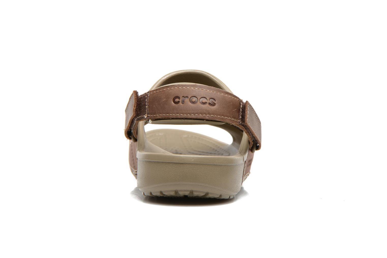 Yukon Two-Strap Sandal M Khaki/Espresso
