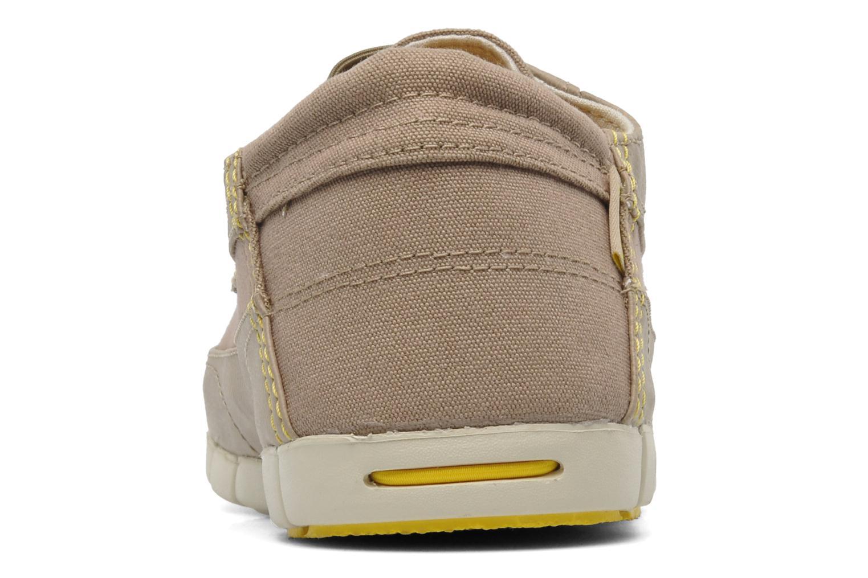 Chaussures à lacets Crocs Stretch Sole Lace-Up M Gris vue droite