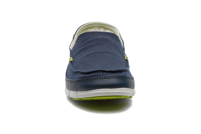 Sneaker Crocs Stretch Sole Loafer M blau schuhe getragen
