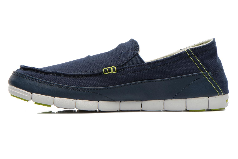 Sneaker Crocs Stretch Sole Loafer M blau ansicht von vorne