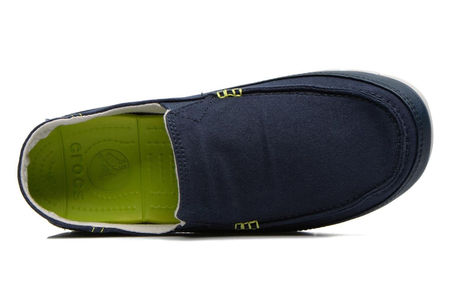 Stretch Sole Loafer M Navy/Pearl White