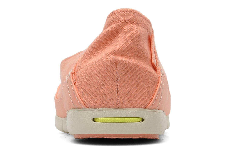Ballerina's Crocs Stretch Sole Flat W Roze rechts