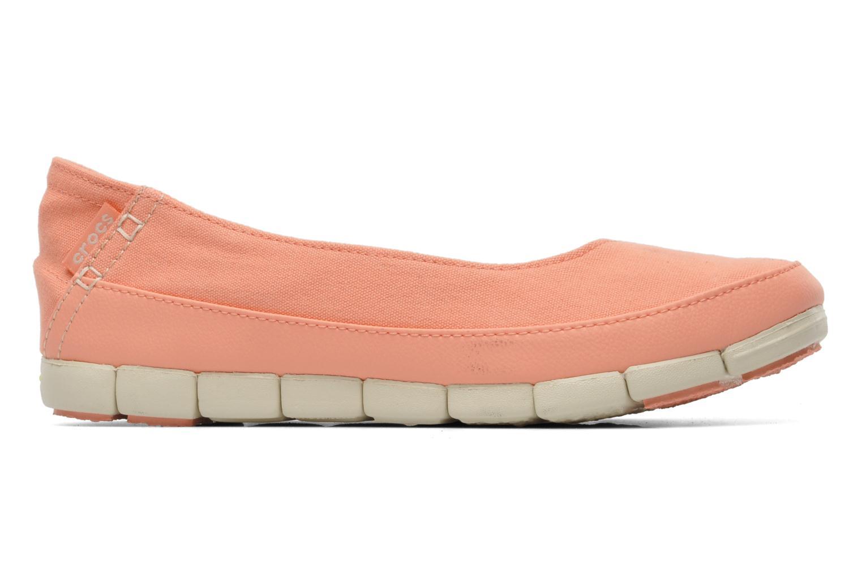 Ballerina's Crocs Stretch Sole Flat W Roze achterkant