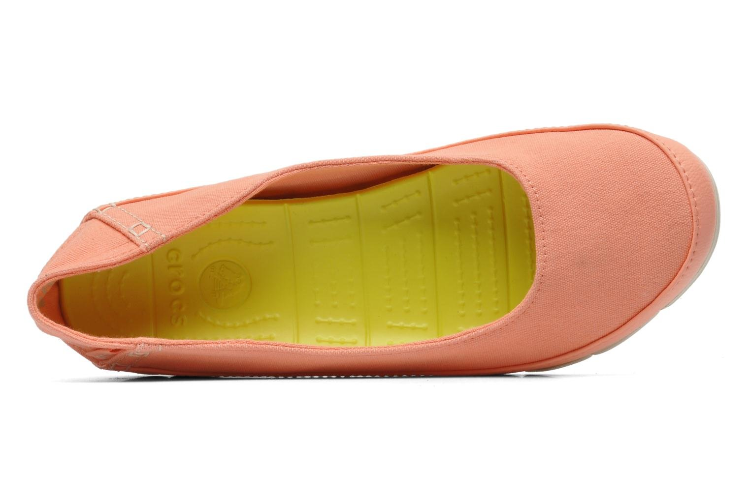 Stretch Sole Flat W Melon/Stucco