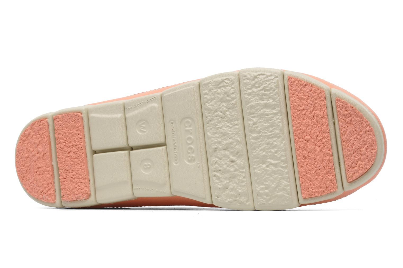 Ballerina's Crocs Stretch Sole Flat W Roze boven