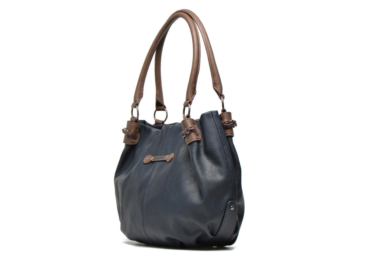 Sacs à main Tamaris AKELA Shopping bag Bleu vue portées chaussures