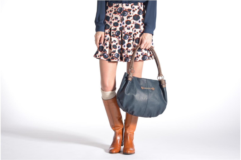 Sacs à main Tamaris AKELA Shopping bag Bleu vue haut