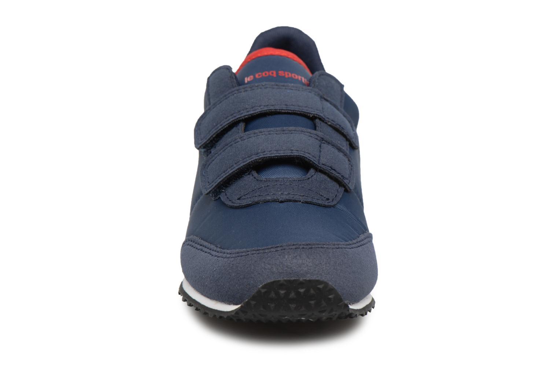 Baskets Le Coq Sportif Racerone PS Bleu vue portées chaussures
