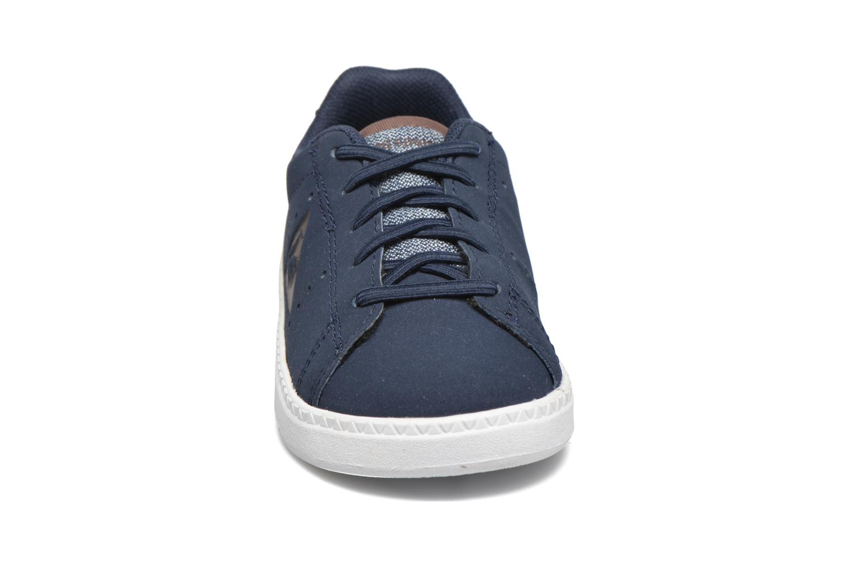 Baskets Le Coq Sportif Courtone Inf Bleu vue portées chaussures