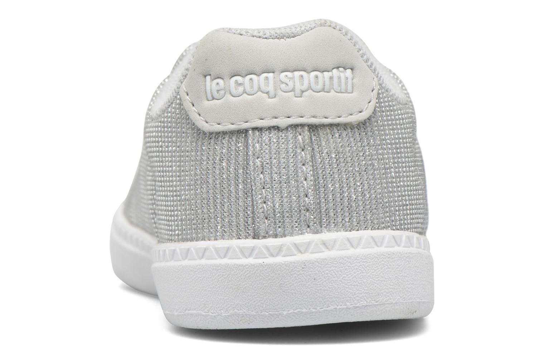 Baskets Le Coq Sportif Courtone Inf Blanc vue droite