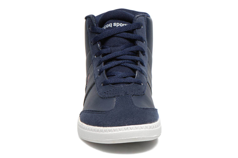 Baskets Le Coq Sportif Tacleone Mid Gs Bleu vue portées chaussures