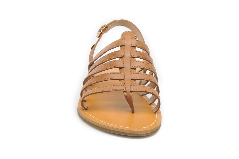 Sandales et nu-pieds Aldo Nye Marron vue portées chaussures