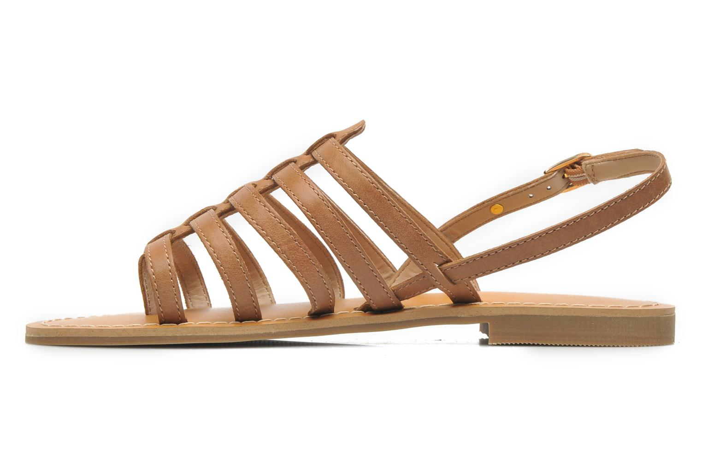 Sandales et nu-pieds Aldo Nye Marron vue face