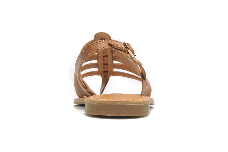 Sandales et nu-pieds Aldo Nye Marron vue droite
