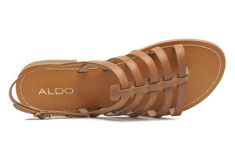 Sandales et nu-pieds Aldo Nye Marron vue gauche