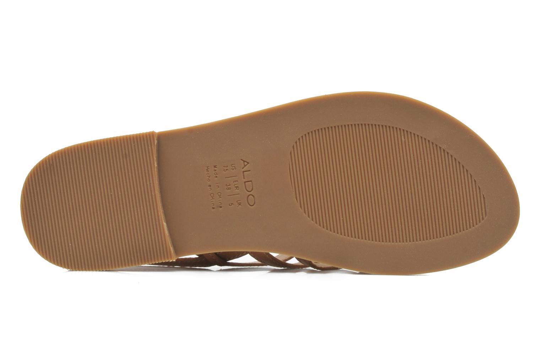 Sandales et nu-pieds Aldo Nye Marron vue haut