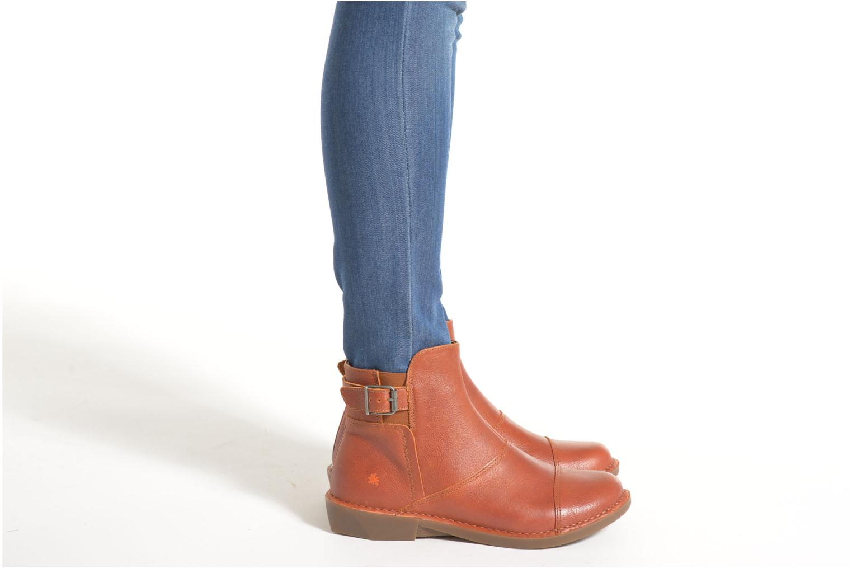 Bottines et boots Art Bergen 917 Marron vue bas / vue portée sac