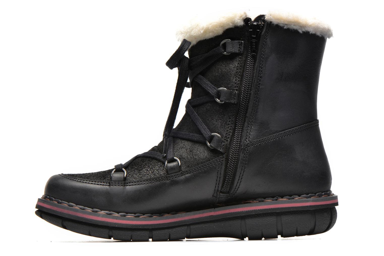 Boots en enkellaarsjes Art Assen 0435 Zwart voorkant