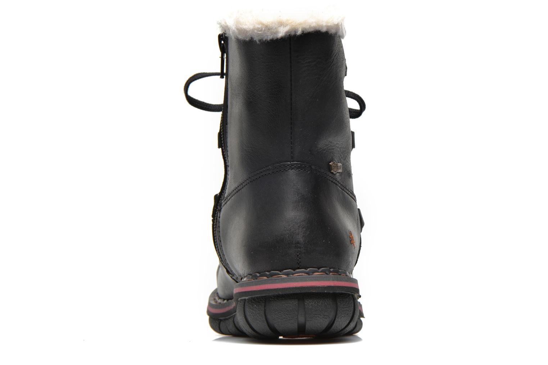 Boots en enkellaarsjes Art Assen 0435 Zwart rechts