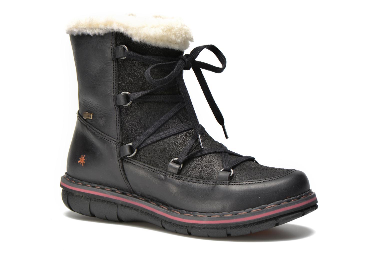 Boots en enkellaarsjes Art Assen 0435 Zwart detail