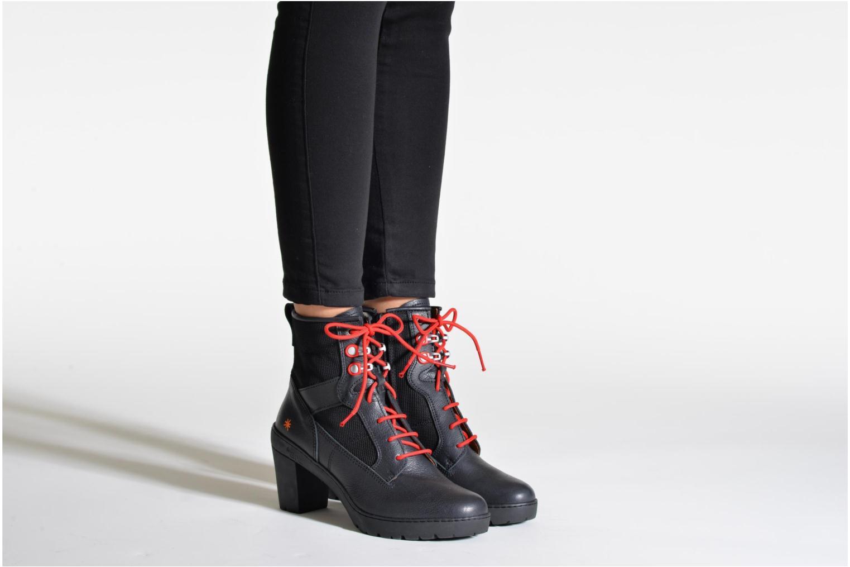 Bottines et boots Art Travel 356 Marron vue bas / vue portée sac