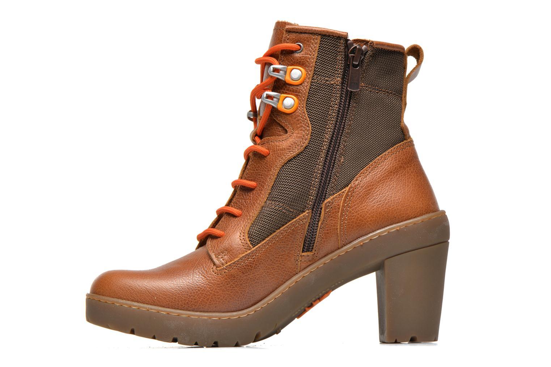 Bottines et boots Art Travel 356 Marron vue face