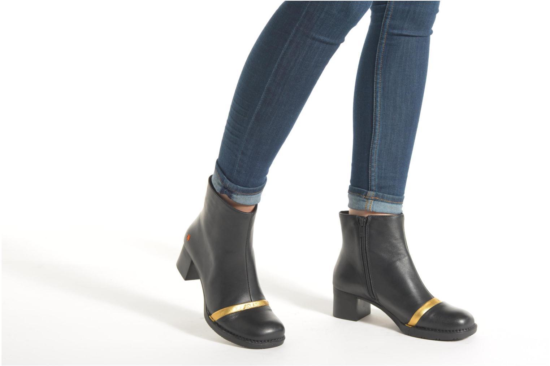 Bottines et boots Art Bristol 0077 Noir vue bas / vue portée sac