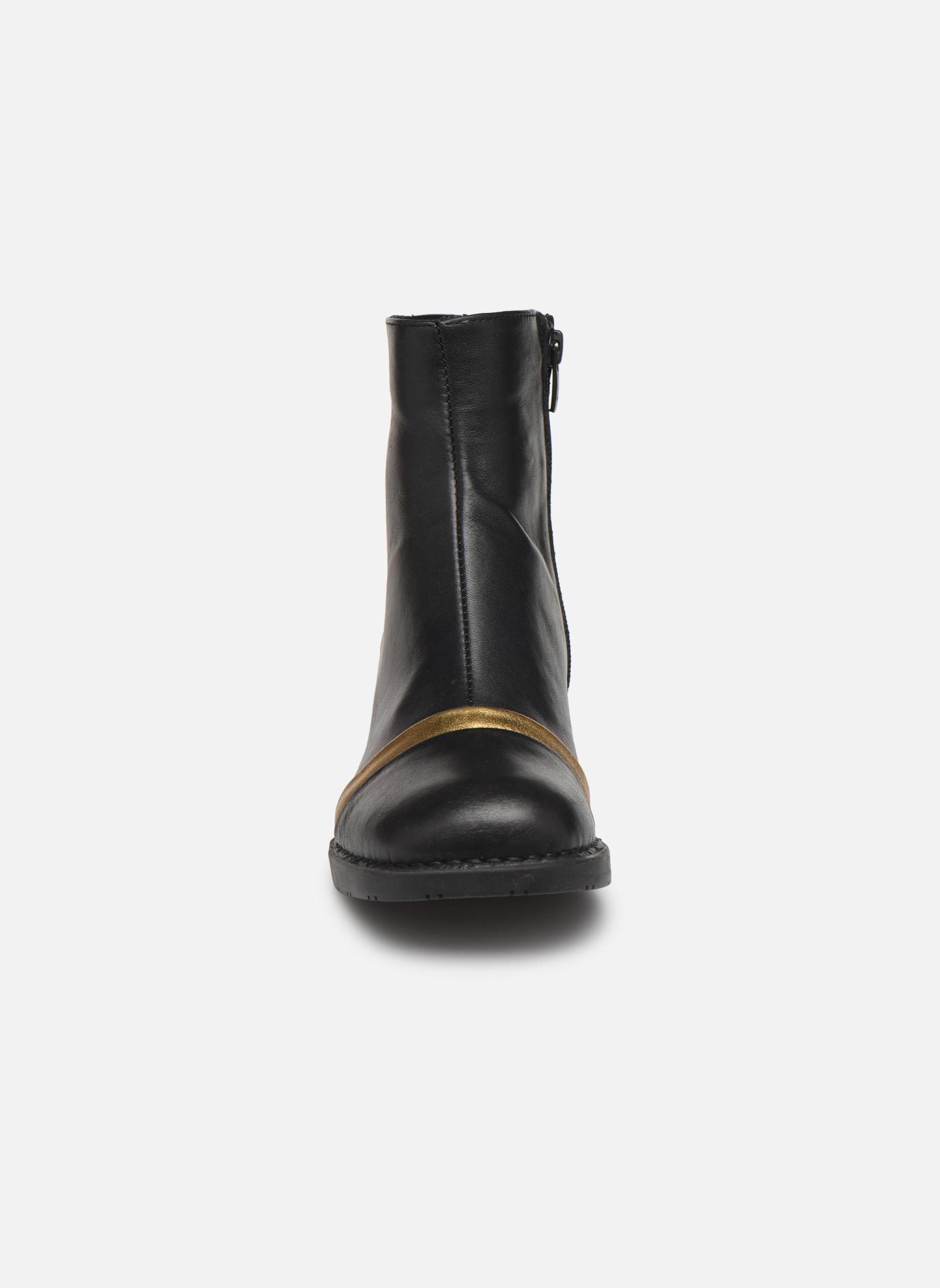 Bottines et boots Art Bristol 0077 Noir vue portées chaussures