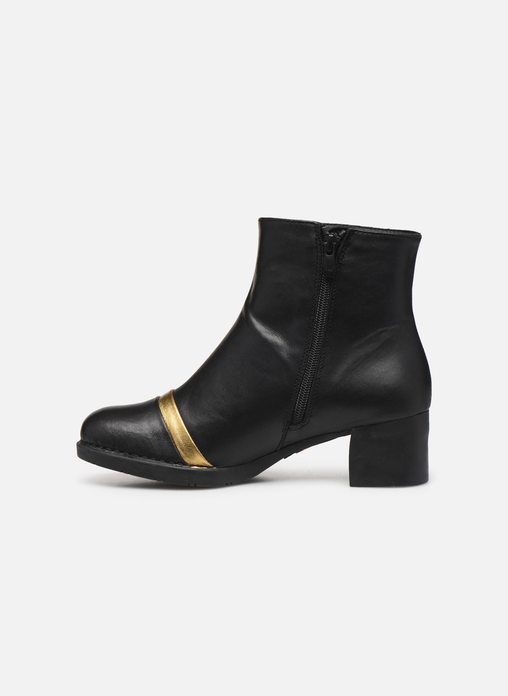 Bottines et boots Art Bristol 0077 Noir vue face