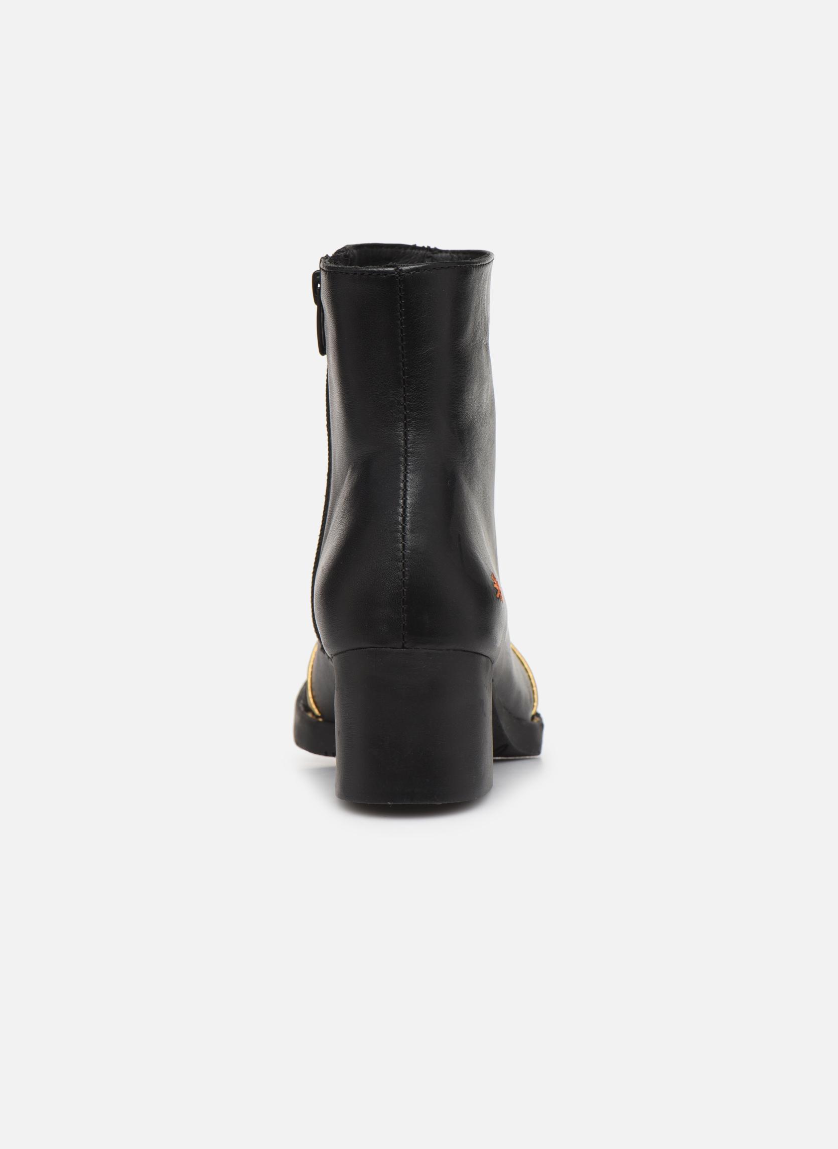 Bottines et boots Art Bristol 0077 Noir vue droite