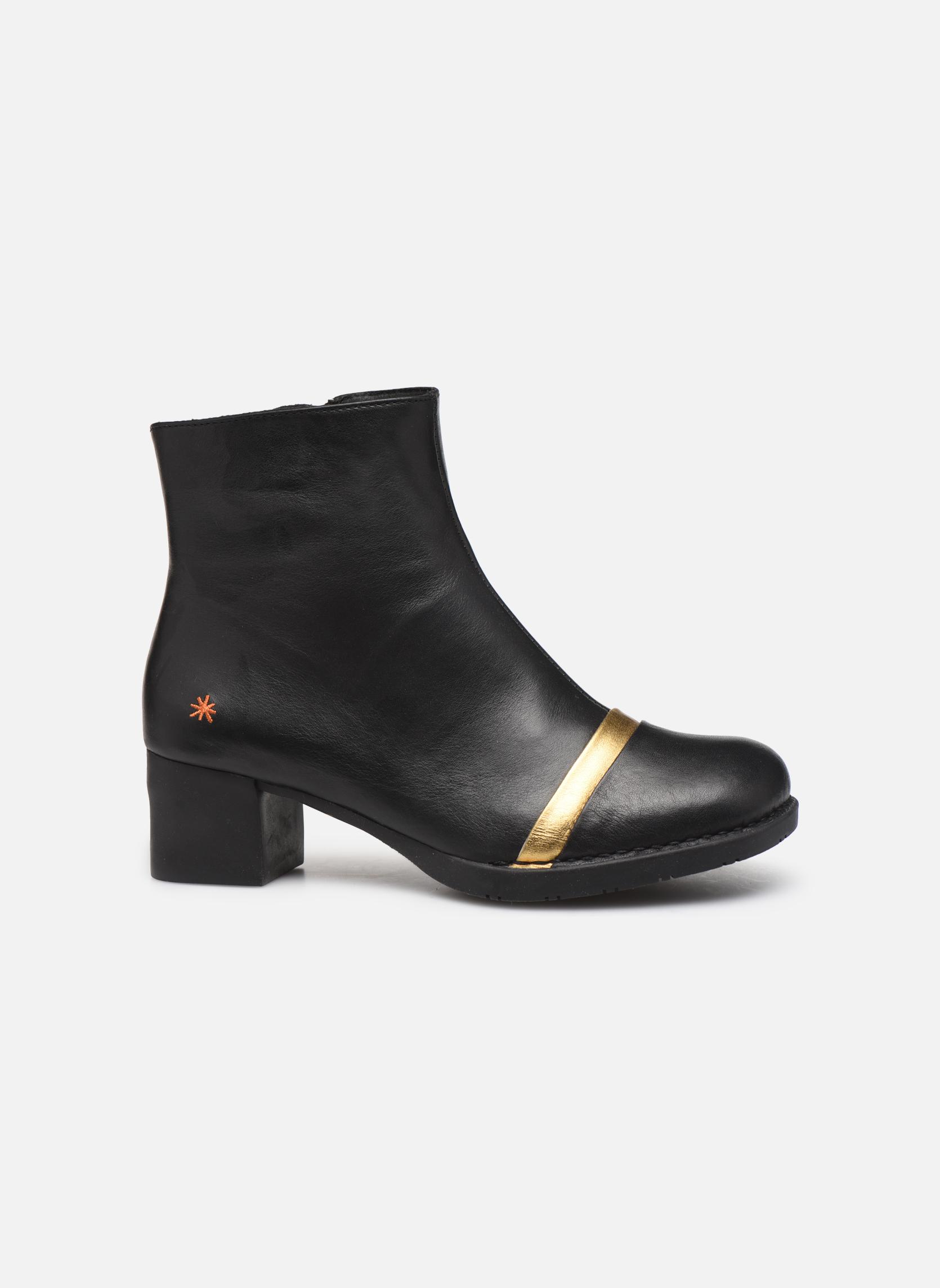 Bottines et boots Art Bristol 0077 Noir vue derrière