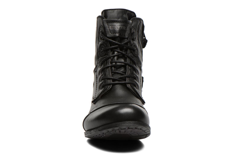 Stiefeletten & Boots Bunker Sar Po schwarz schuhe getragen