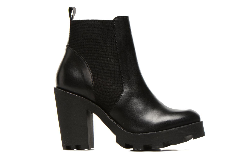 Bottines et boots Pieces Uzza Noir vue derrière