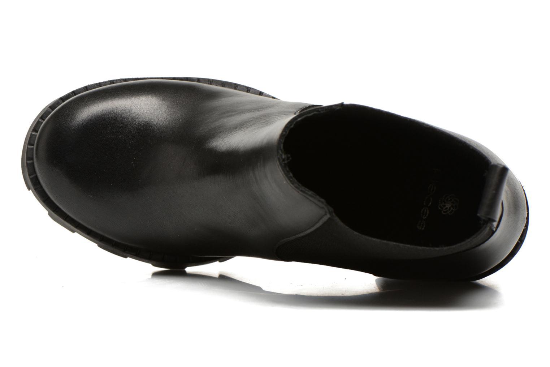 Bottines et boots Pieces Uzza Noir vue gauche