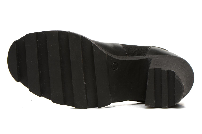Bottines et boots Pieces Uzza Noir vue haut