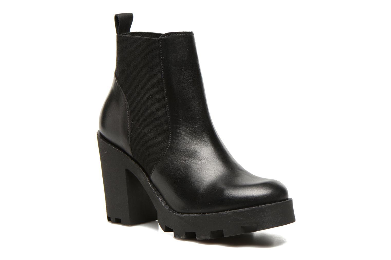 Uzza Leather Black