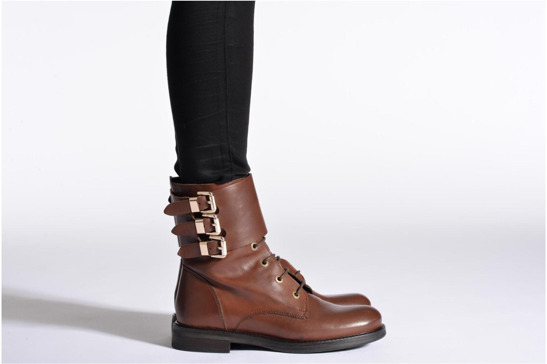 Bottines et boots Bruno Premi Suana Marron vue bas / vue portée sac