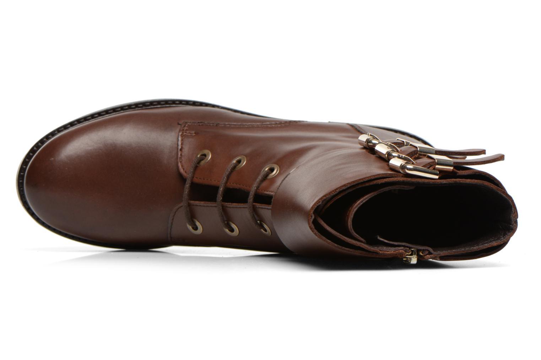 Bottines et boots Bruno Premi Suana Marron vue gauche