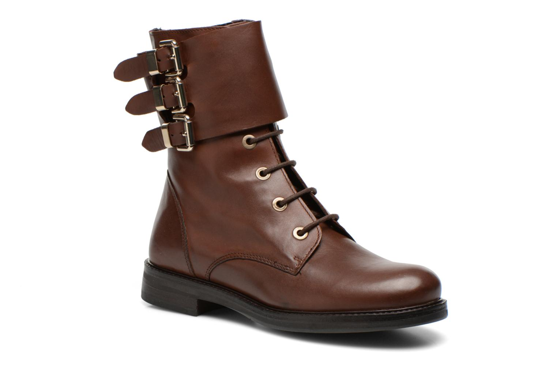 Bottines et boots Bruno Premi Suana Marron vue détail/paire
