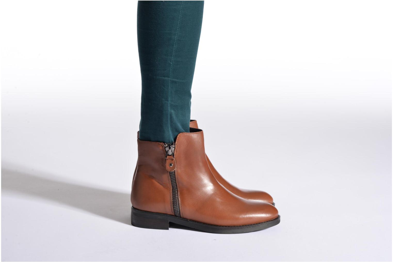 Bottines et boots Bruno Premi Zadina Marron vue bas / vue portée sac