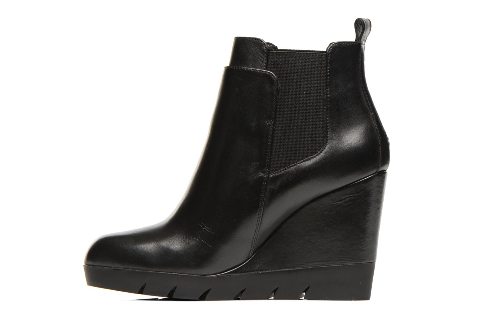 Bottines et boots Bruno Premi Vitello Noir vue face