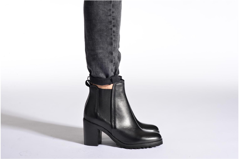 Bottines et boots Bruno Premi Waikiri Noir vue bas / vue portée sac
