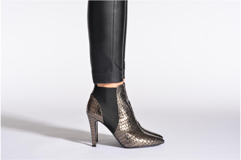 Stiefeletten & Boots Bruno Premi Zimbabwa grau ansicht von unten / tasche getragen