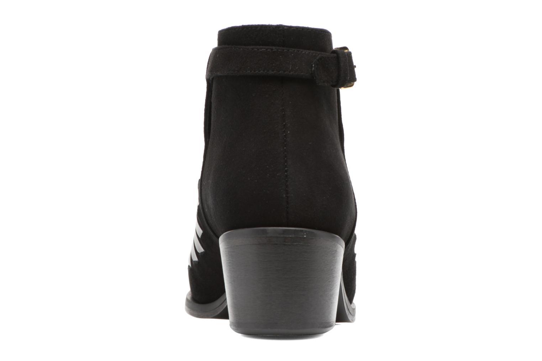Bottines et boots MySuelly Robert Python Noir vue droite