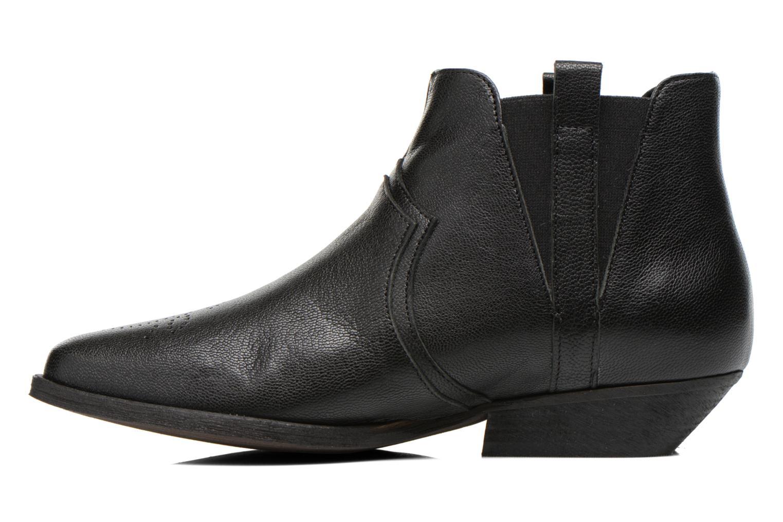 Bottines et boots Schmoove Woman Impala Boots Noir vue face
