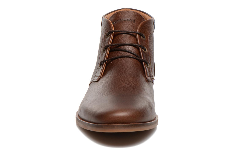 Chaussures à lacets Schmoove Dirtydandy Desert Marron vue portées chaussures