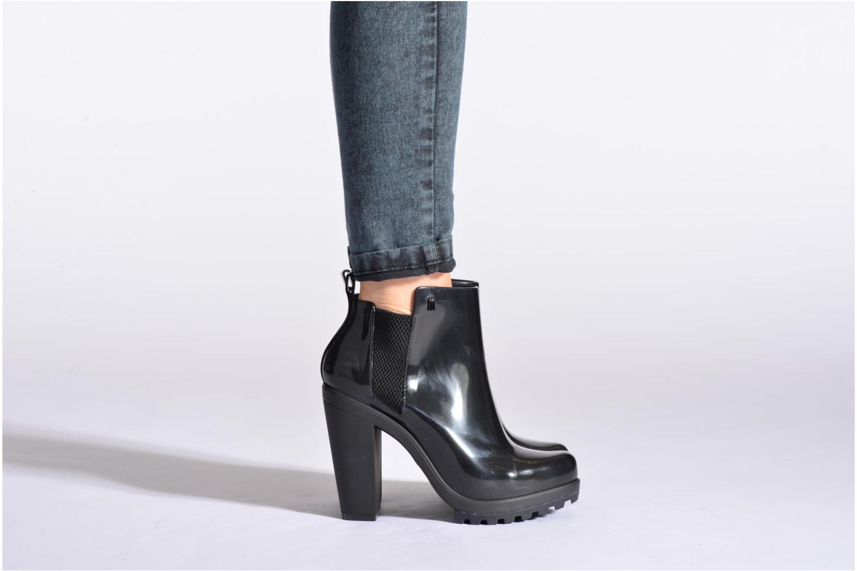 Bottines et boots Melissa Melissa Soldier II Noir vue bas / vue portée sac